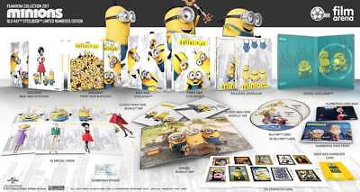 Full Movie Minions (Minions (3D + 2D) Blu-ray SteelBook Full Slip FilmArena Collection #86)