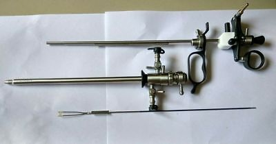 Hysteroscope Turp Resectoscope Sheath Set Endoscopy Working Element Passive