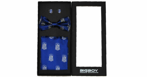 Phi Beta Sigma Fraternity Bow Tie Set- Pre-Tied-Style 3-New!