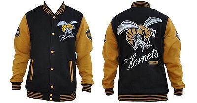 Alabama State University Hornets Fleece College Baseball Jacket Hbcu M 5X
