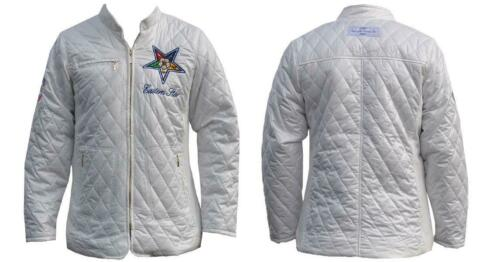 Order of the Eastern Star OES Padded Jacket- Size Medium- New!