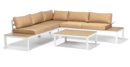 Polyrattan Premium Gartenmöbel Alu Lounge Rattan Essgruppe Sitzecke