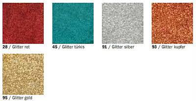 Efcolor Farbschmelzpulver Emaillieren Set Glitter 5 Farben siehe Bild
