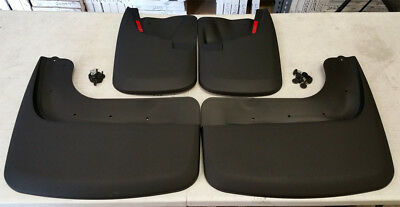 SALE HUSKY LINERS Mud Flap Guards 11-15 F-350 F-450 Super Duty Dually FRONT REAR