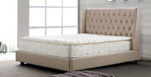 fabric / leather bed frame king / queen size  $899~$1,599 Brendale Pine Rivers Area Preview
