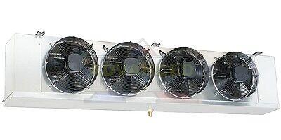 Low Profile Walk-in Cooler Evaporator 4 Fans Blower 37000 Btu 5200 Cfm 220v