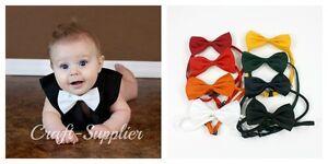 New-Boys-Bow-Ties-Boys-Infants-Toddlers-Elastic-Neck-Church-Dress-School