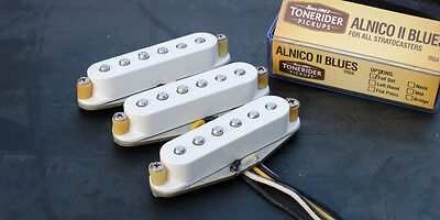 Tonerider TRS4 Alnico II Blues STRAT Set - Blanco