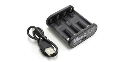 (Kyosho Speed House USB-Powered NiMH Battery Charger for AA and AAA - 71999)