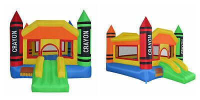 Used, Bounce House Inflatable Castle Moonwalk Jump Bouncy Jumper Bouncer Slide Blower for sale  Shipping to Canada
