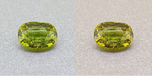 Alexandrite Untreated Ceylon Olive Green 1.04ct. Certified (00424)