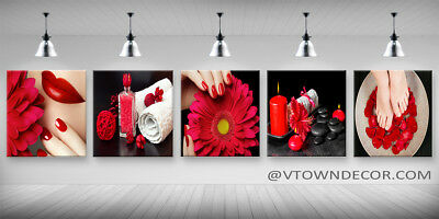Wall Canvas for Nail Spa Salon/Nail Furniture/ Decoration / Free Shipping for sale  Dallas