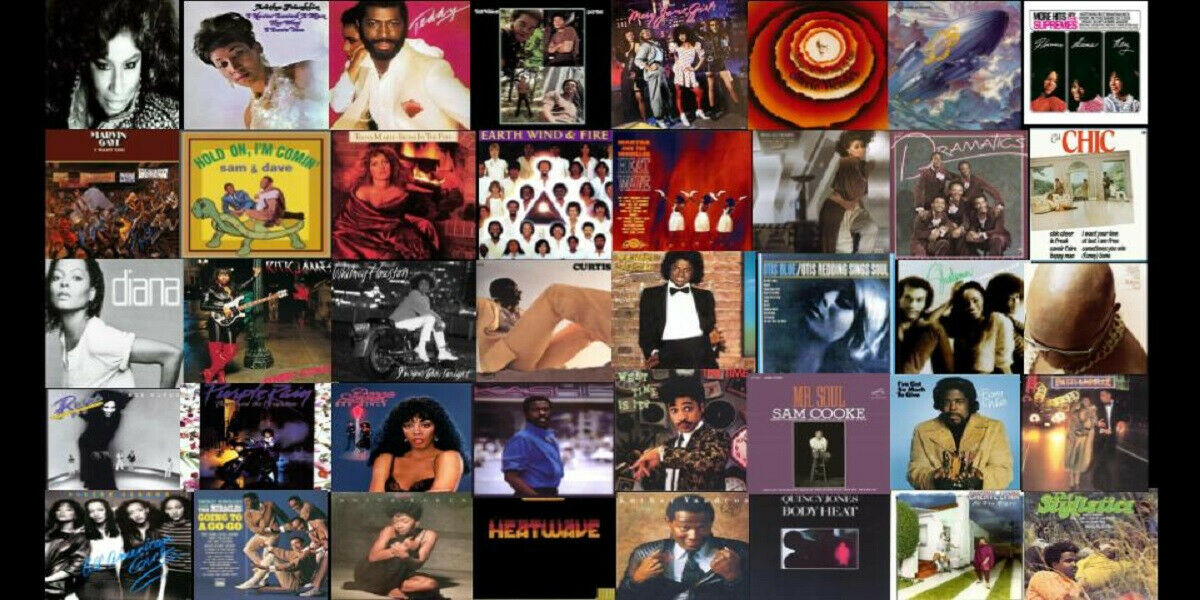 $5 Vinyl Records- No Limit- You Choose...R&B- Funk- Soul- Disco- & More!