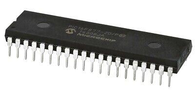 Pic16f877-20p Pic Microcontroller Ic 8-bit 20mhz 14kb8kx14 Flash 40-pdip