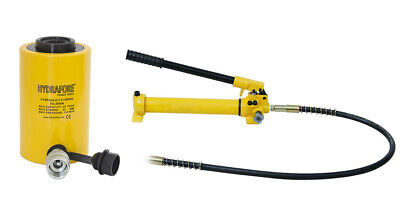 Hydraulic Hand Pump With Single-acting Hollow Ram Cylinder 20tons 2