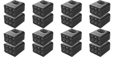 16PCS Blocklite 9 Volt LED Flashlight: Free USPS Shipping