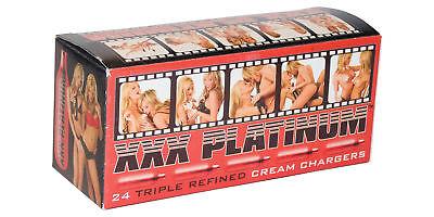 72 Whipped Cream Chargers 8g whip it N20 Best European N2O 3 x 24 XXX Platinum