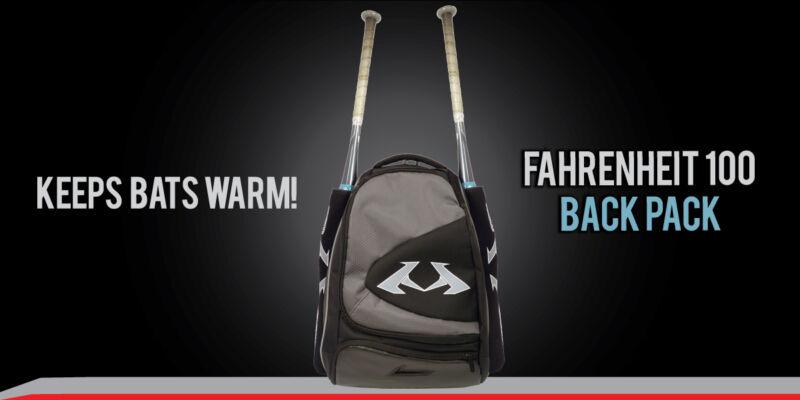 Barrel Max Bat Warmer BACKPACK for DeMARINI FLIPPER AFTERMATH STADIUM CL22 BATS
