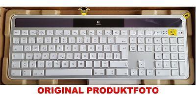 Logitech Wireless K750 Solar Keyboard Tastatur für Mac grau CH-Layout NEU DHL  segunda mano  Embacar hacia Spain