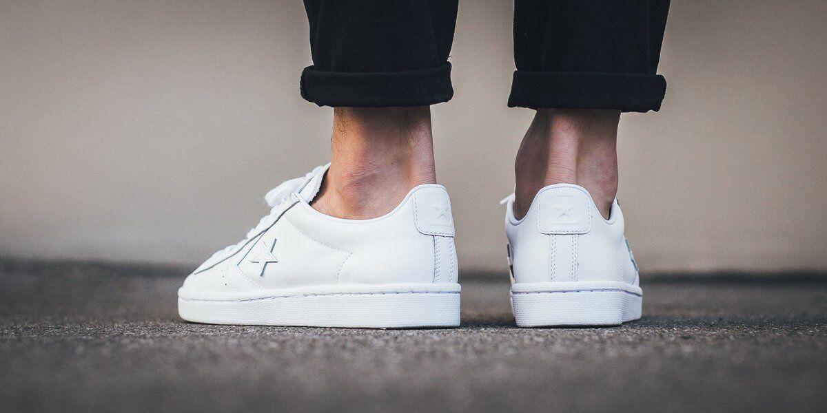 Converse Pro 76 Low Top Leather Lunarlon Shoes size Men's 10