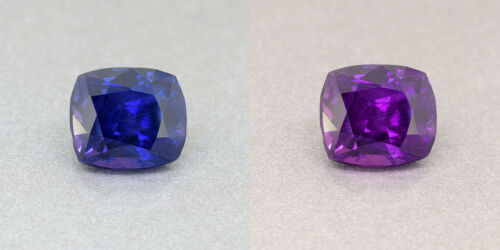 Ceylon Unheated Colour Colour Changing Royal Blue Sapphire 2.31 Ct. (00626)