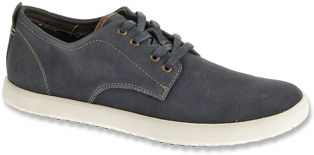 Men's Hush Puppies Casual & Comfort ROADSIDE OXFORD_PL Navy Suede H103638 New