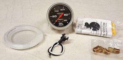 "[SALE] Autometer Pro-Comp 2-5/8"" Liquid Filled Mechanical Oil Pressure Gauge"