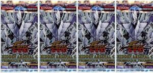 YuGiOh! Hidden Arsenal 4 New And Sealed Booster Packs x4