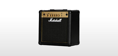 Marshall Amps Guitar Combo Amplifier,15-watt 1x8, MG15G
