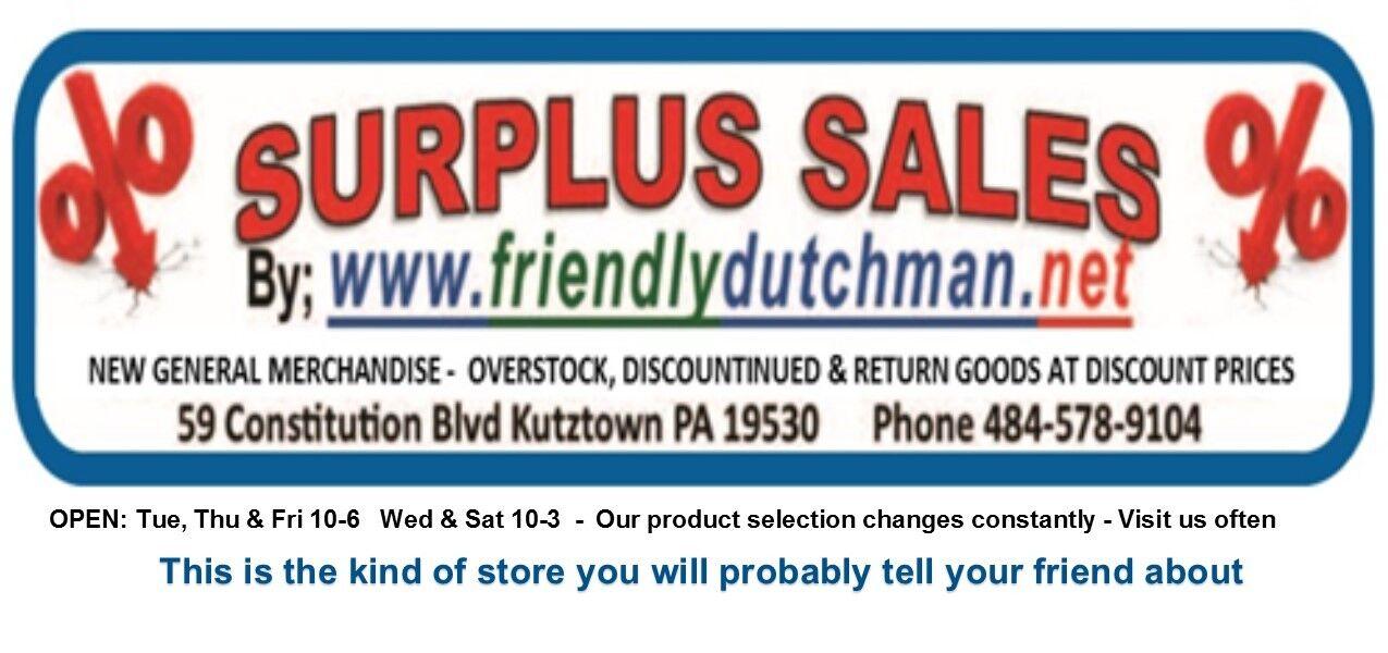 friendlydutchman surplus sales