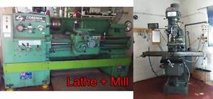 Heavy Duty Lathe and Mill - Owner needs them moved out! Acacia Ridge Brisbane South West Preview