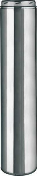 """NEW SELKIRK 206148 6"""" X 48"""" SURE-TEMP INSULATED STOVE CHIMNEY PIPE 0099861"""
