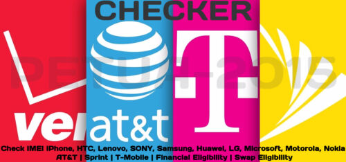 Check IMEI iPhone Samsung LG Carrier AT&T Sprint T-Mobile Financial Eligibility