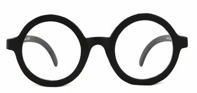 Daria Costume Glasses UV 400 Nerd Bookworm Round Eye Dress Up Halloween Wizard - Daria Costume