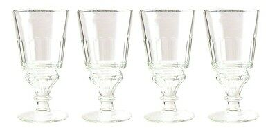 Authentic La Rochere Pontarlier Absinthe Glass - 4 Pack - French Specialty Drink