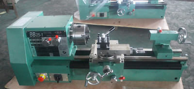 220v Bb25-1l Cnc Small Precision Lathe Matal Lathe Machine Three-jaw Chuck