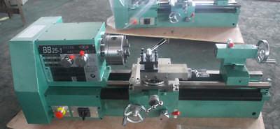 220v Bb25-1l Cnc Small Precision Lathe Matal Lathe Machine Three-jaw Chuck