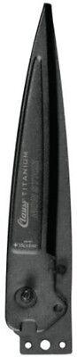 Clauss 18490 AirShoc Titanium Non-Stick Grass Shear Replacement Blade