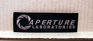 PORTAL-Game-Aperture-Laboratories-Logo-4-5-Embroidered-Patch-POPA-AL01
