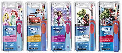 Braun Oral-B Stages Power Kids Elektrozahnbürste - verschiedene Motive