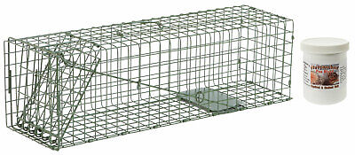 "Duke #2 Model 1105 Standard Single Door Cage Trap Value Package - 24"" X 7"" X 7"""