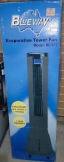 **NEW-NEVER USED**Remote Controlled Evaporative Tower Fan-RRP$159 Rooty Hill Blacktown Area Preview
