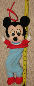 Plush Baby Mickey Mouse Musical Pull String Toy London Ontario image 2