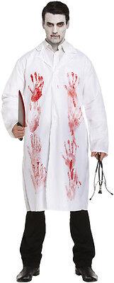 ctors Halloween Lab Coat Surgeon Zombie Fancy Dress Costume (Halloween-lab)