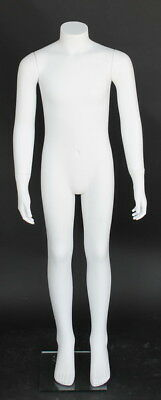 46 In Child Kid 810 Year Headless Mannequin Torso Form White Color Kh08wt