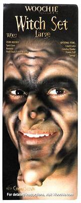 WOOCHIE WITCH CHIN NOSE & WARTS LATEX PROSTHETIC COSTUME MAKEUP FA85](Woochie Nose)