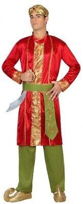 Herren Indisch Bollywood aus Aller Welt Karneval Kostüm Kleid Outfit M-XL