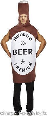 Uomo Adulto Bottiglia di Birra Commedia Novità Addio Al Celibato Costume Vestito