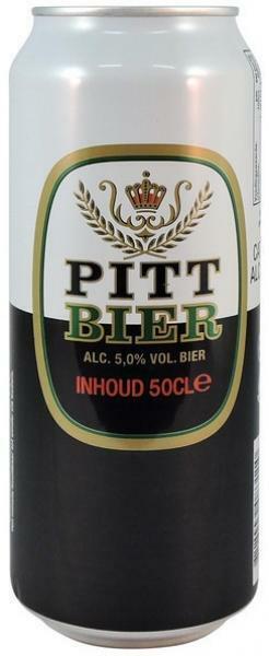 Pitt Bier - 24 x 0.5 l Dose - Beer, Cerveza