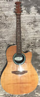 Ovation Balladeer Model 1861 USA Acoustic Electric Guitar
